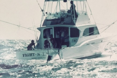 Fight-N-Lady Catching a World Record Blue Marlin