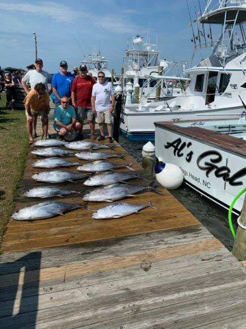 gulfstream fishing charter in nags head