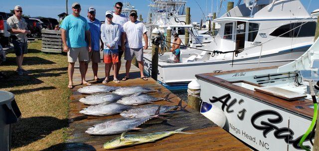 obx tuna charter