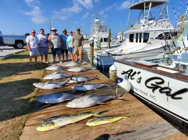gulfstream tuna charter out of oregon inlet