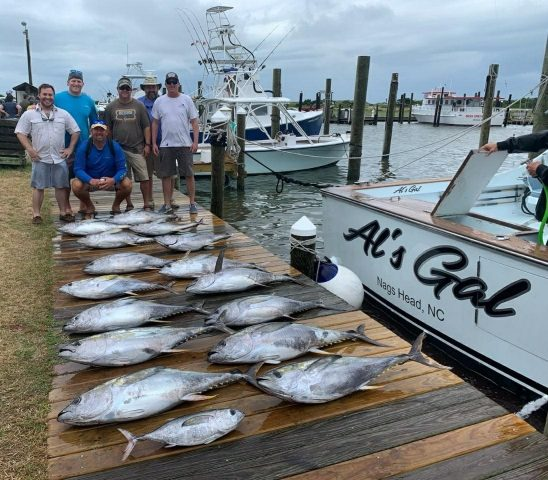 fishing for yellowfin tuna out of oregon inlet