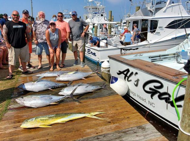 mahi and tuna fishing
