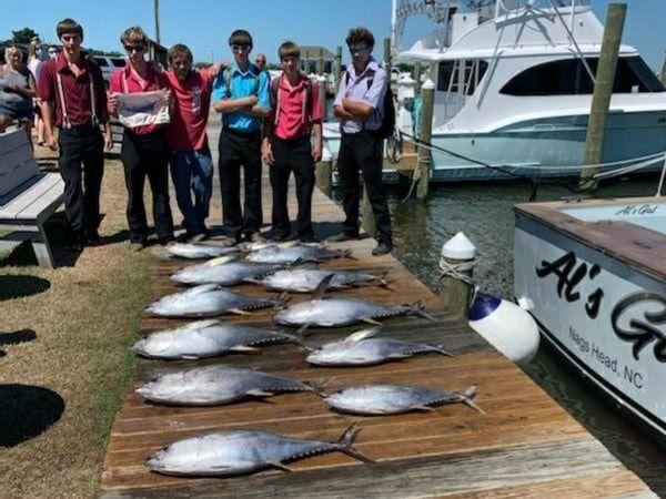 tuna - outer banks fishing