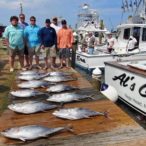 tuna boat - outer banks fishing