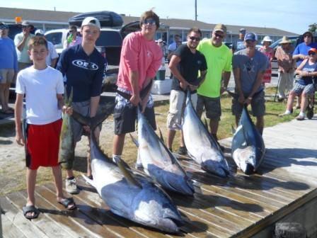 Bigeye Tuna Fishing - OBX