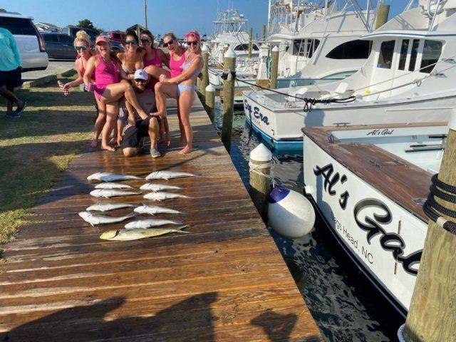 ladies fishing charter