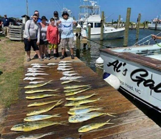 family fishing charter - outer banks fishing