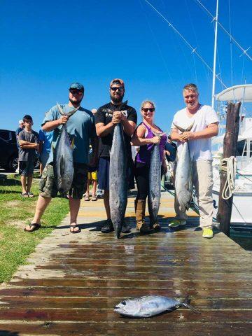 wahoo and tuna fishing - obx
