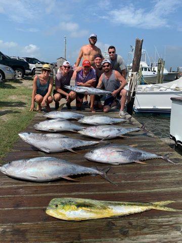 yellowfin tuna fishing out of north carolina