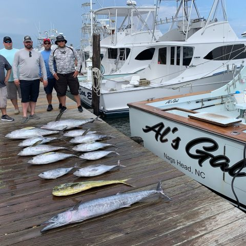 tuna mahi wahoo fishing charter