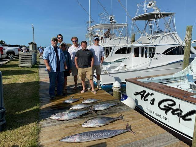 fishing out of the outer banks - nags head